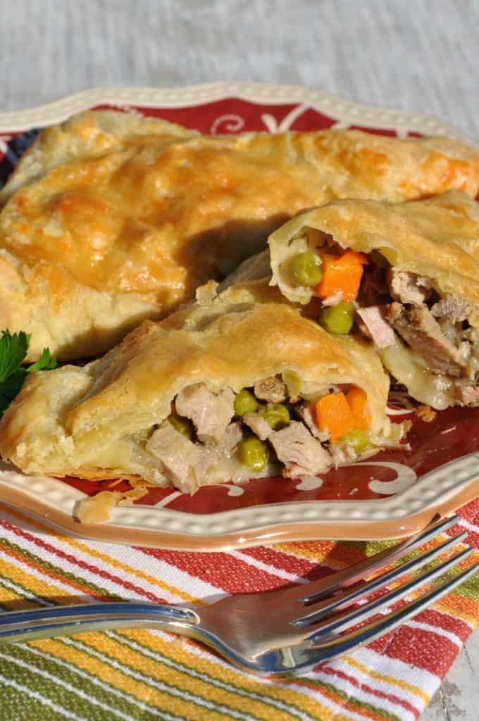 Chicken Pot Pie Pockets 2