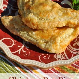 Chicken Pot Pie Pockets