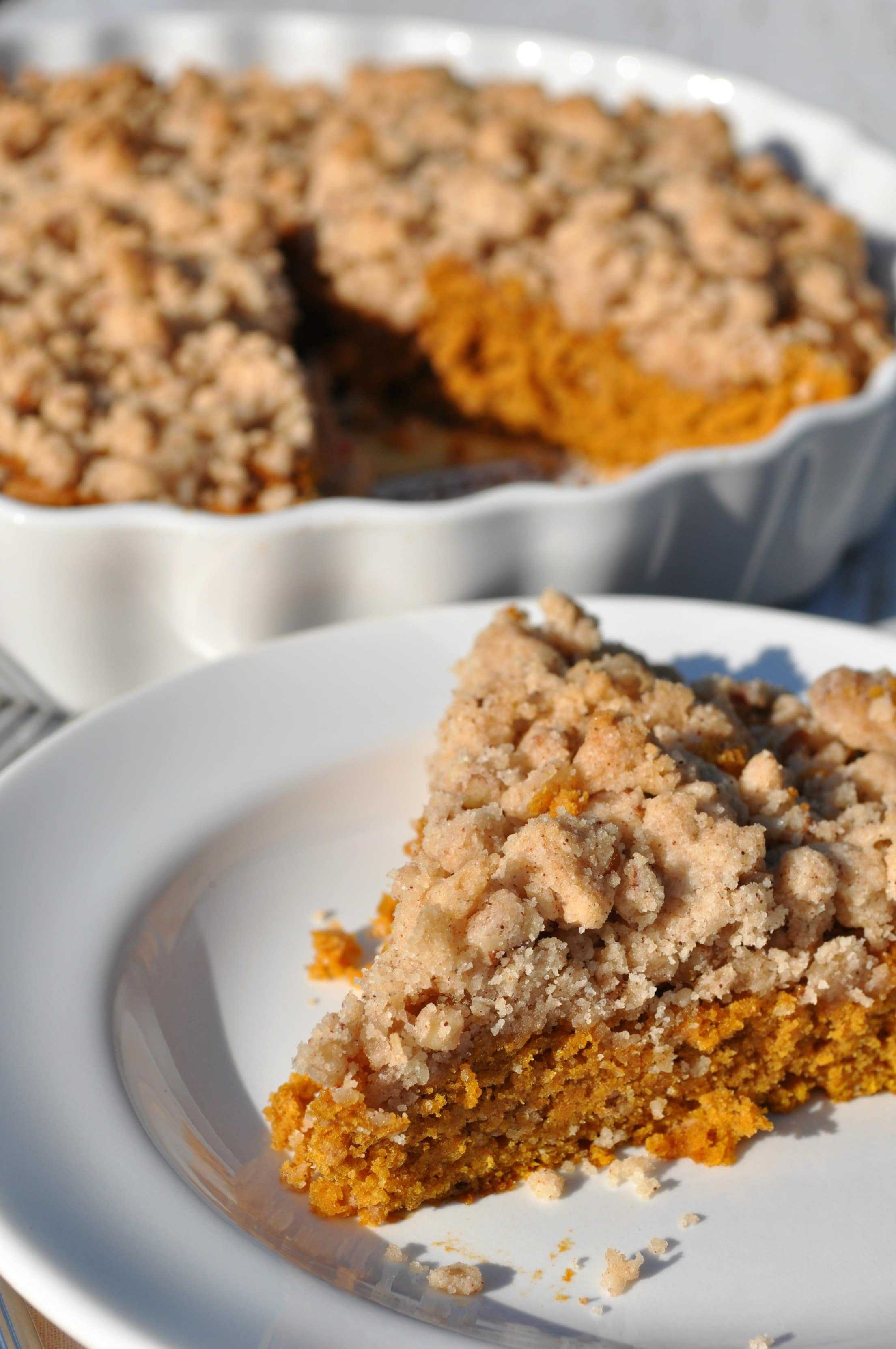 Easy Pumpkin Streusel Coffee Cake The Seasoned Mom