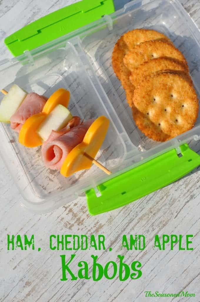 Ham Cheddar and Apple Kabobs 3