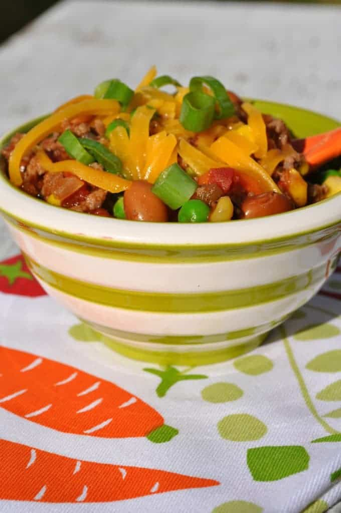 Slow Cooker Healthy Taco Ranch Chili 2