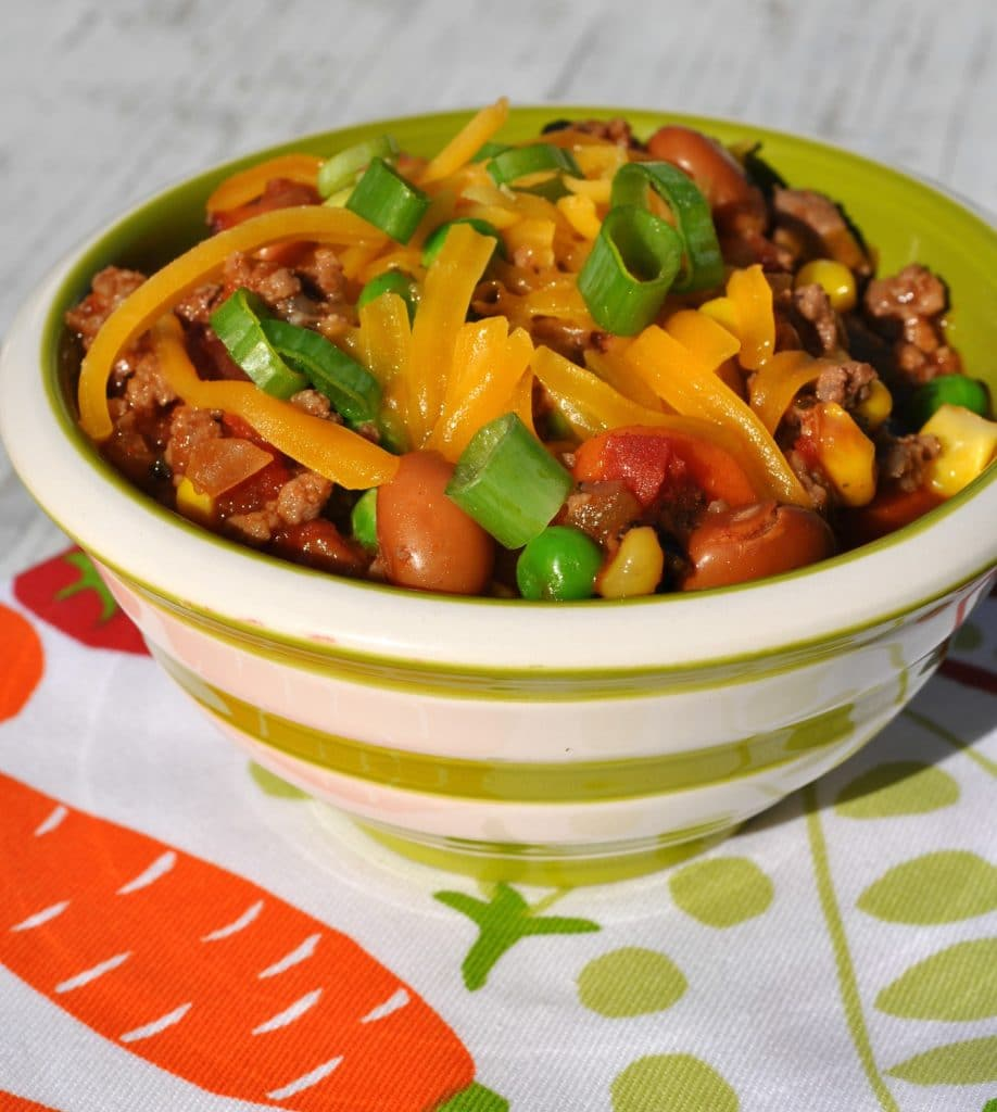 Slow Cooker Healthy Taco Ranch Chili 3