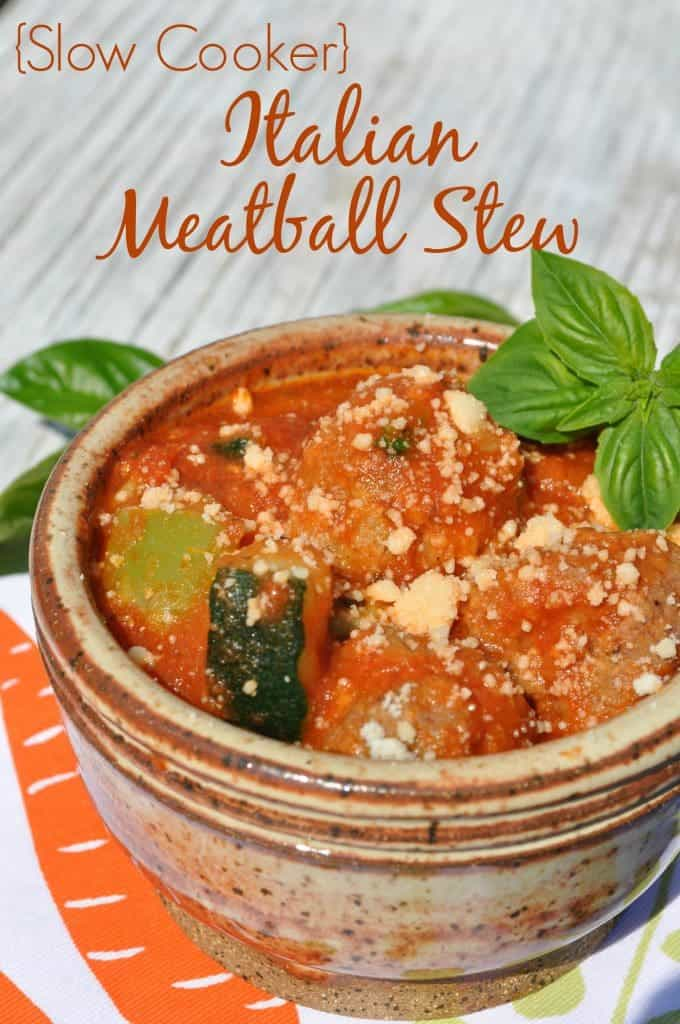 Slow Cooker Italian Meatball Stew 3 14 Delicious Fall Soup Recipes 4 Fall Soup Recipes