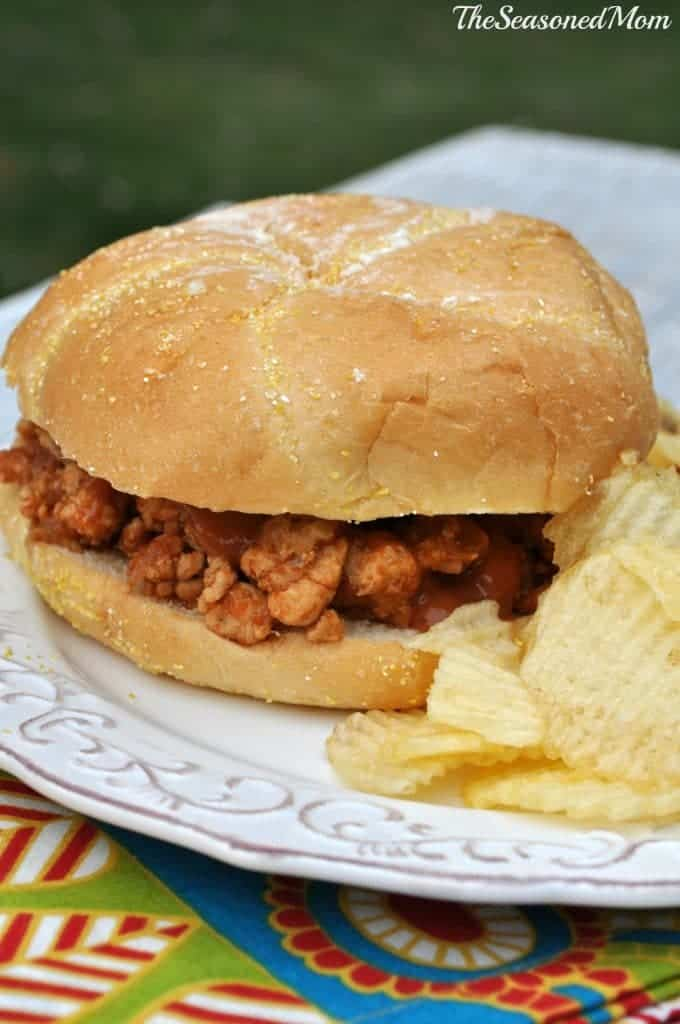 Slow Cooker Turkey Sloppy Joes - The Seasoned Mom