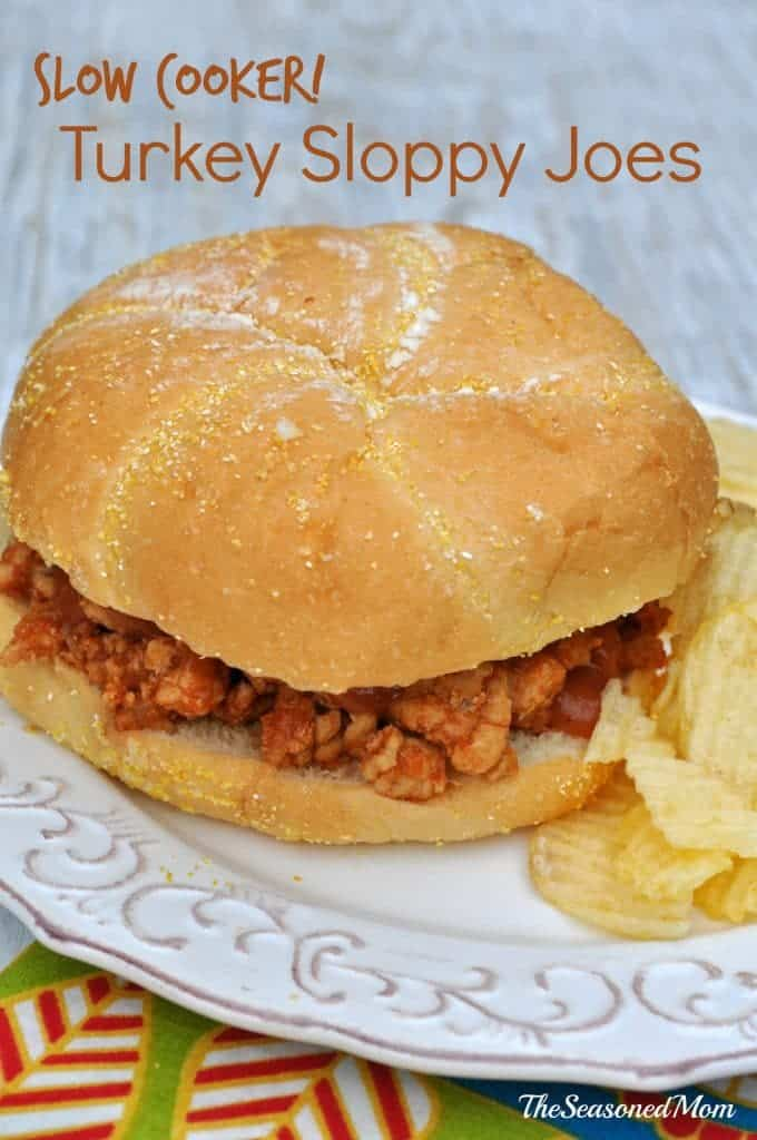 Slow Cooker Turkey Sloppy Joes