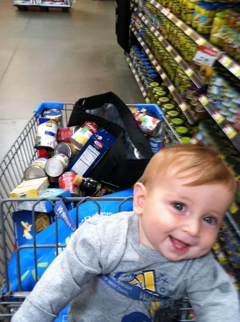 Spence in Walmart