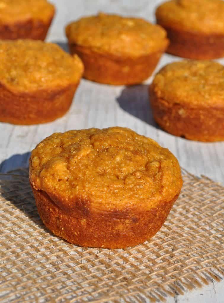 Sweet Potato Corn Muffins 3