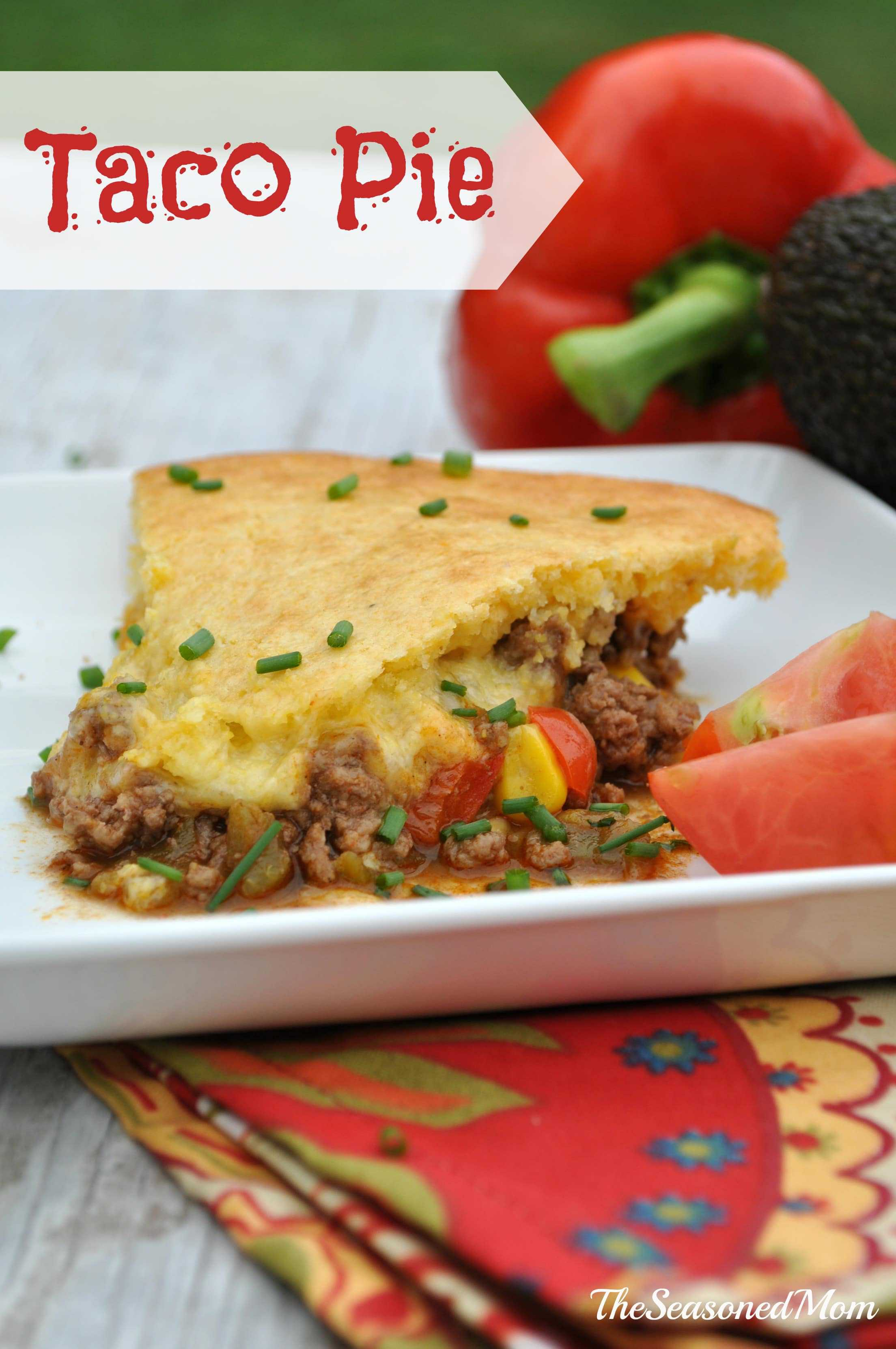 Taco Pie - The Seasoned Mom