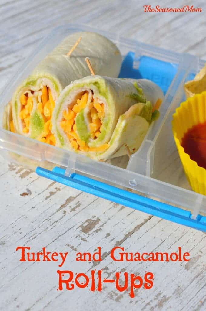 Turkey and Guacamole Roll Ups 2