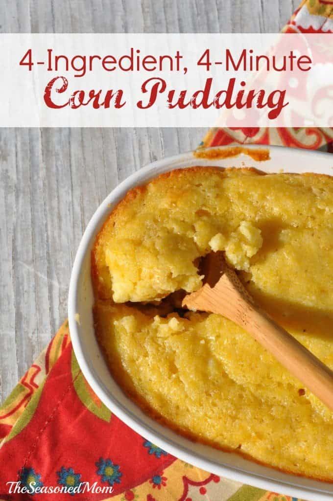 4 Ingredient Corn Pudding