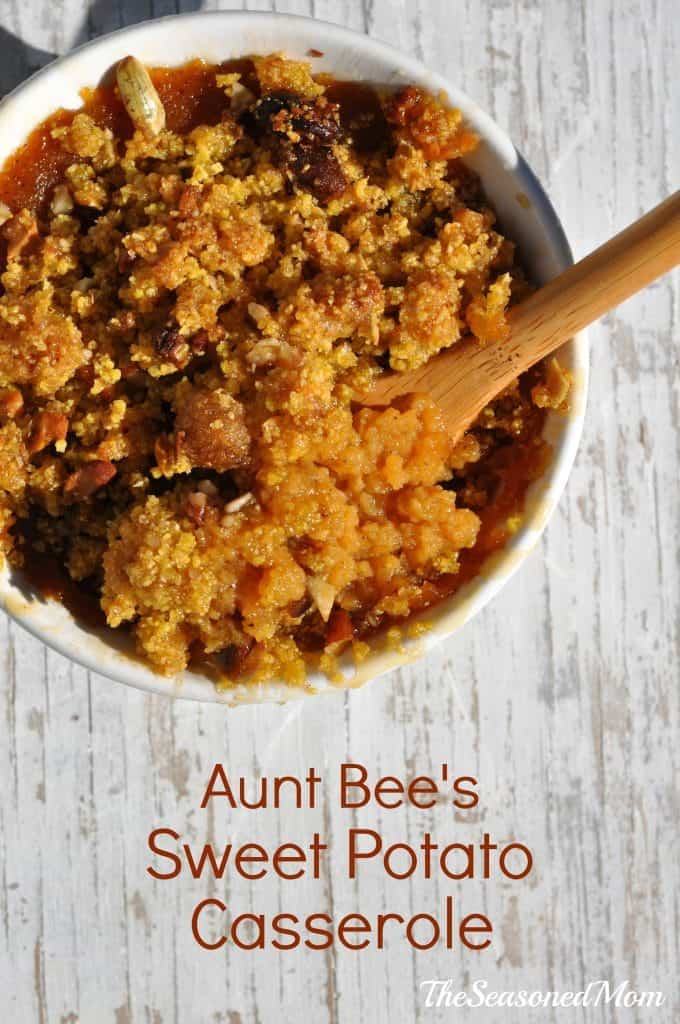 Aunt Bee's Sweet Potato Casserole 3