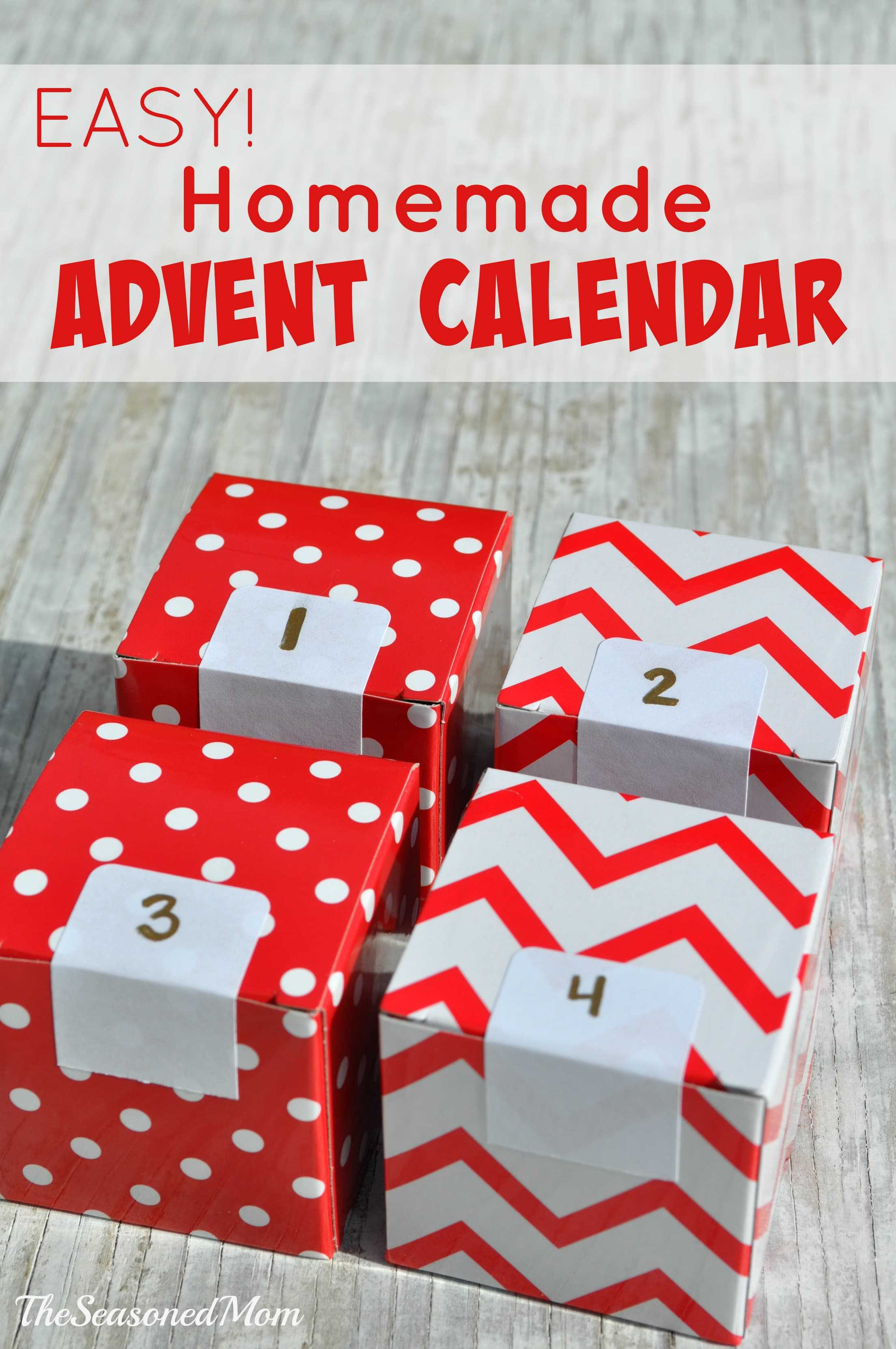 Advent Calendar Homemade : Easy homemade advent calendar the seasoned mom
