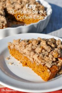 Easy Pumpkin Streusel Coffee Cake The Seasoned Mom