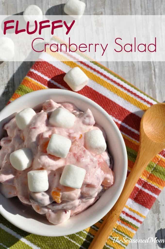 Fluffy Cranberry Salad 1