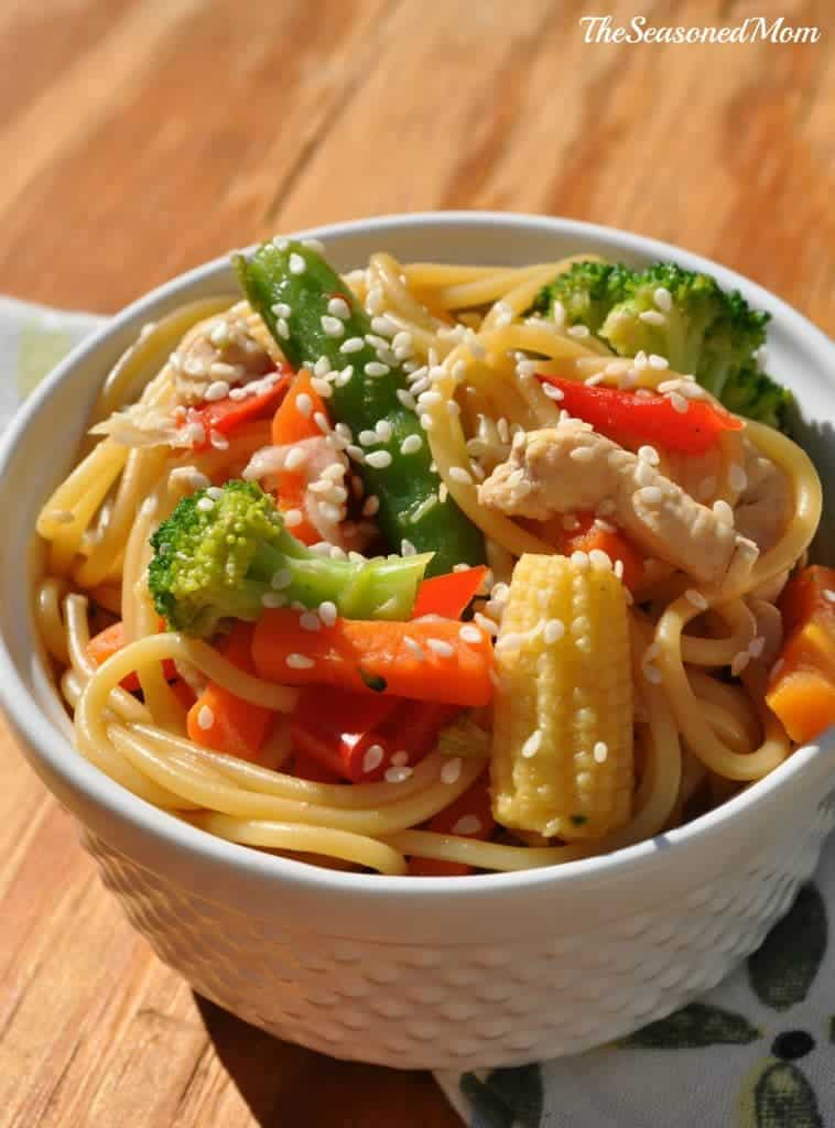 Healthy Chicken Chow Mein 2
