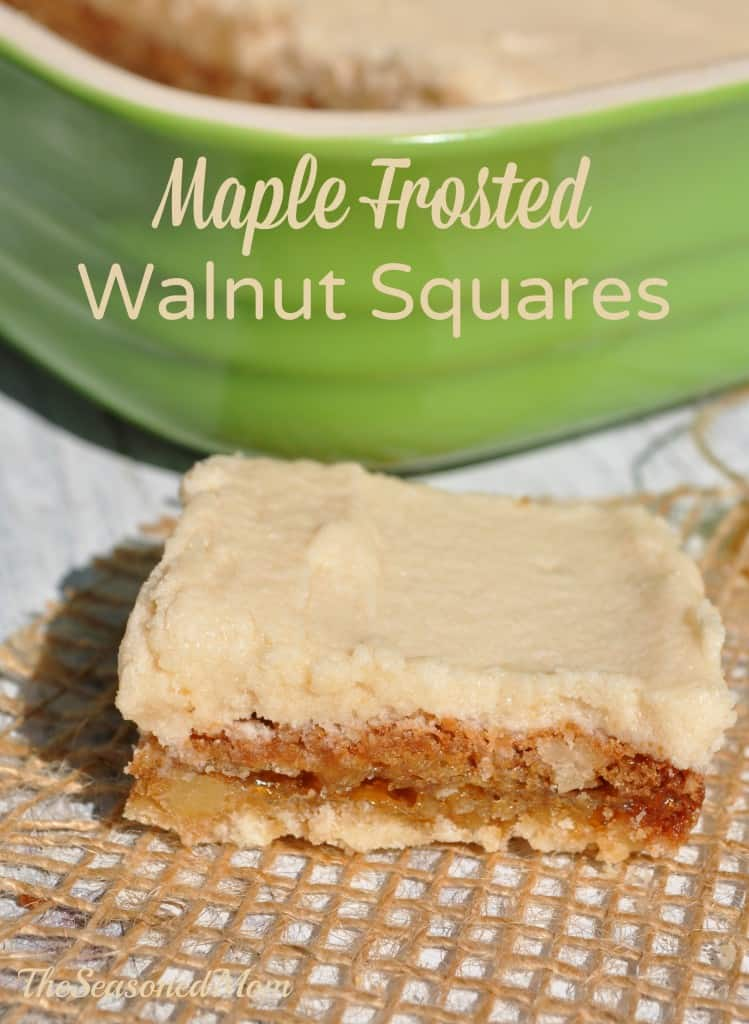 Maple Frosted Walnut Squares 3