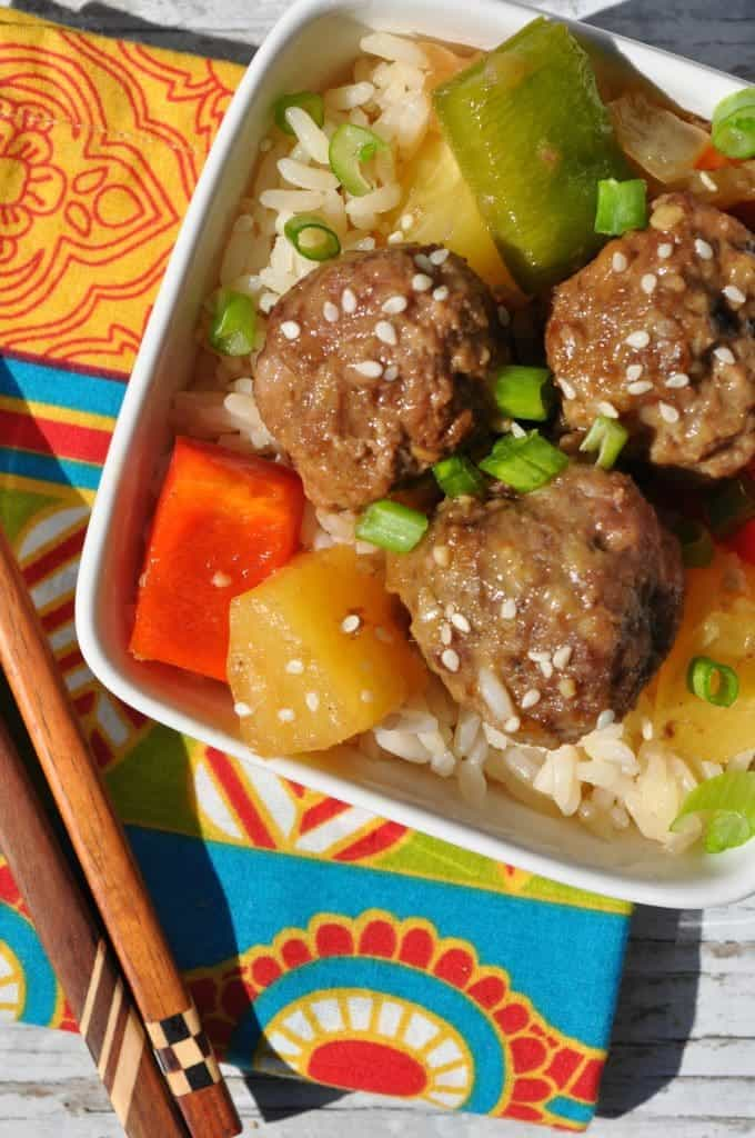 Sweet and Sour Lamb Meatballs 3