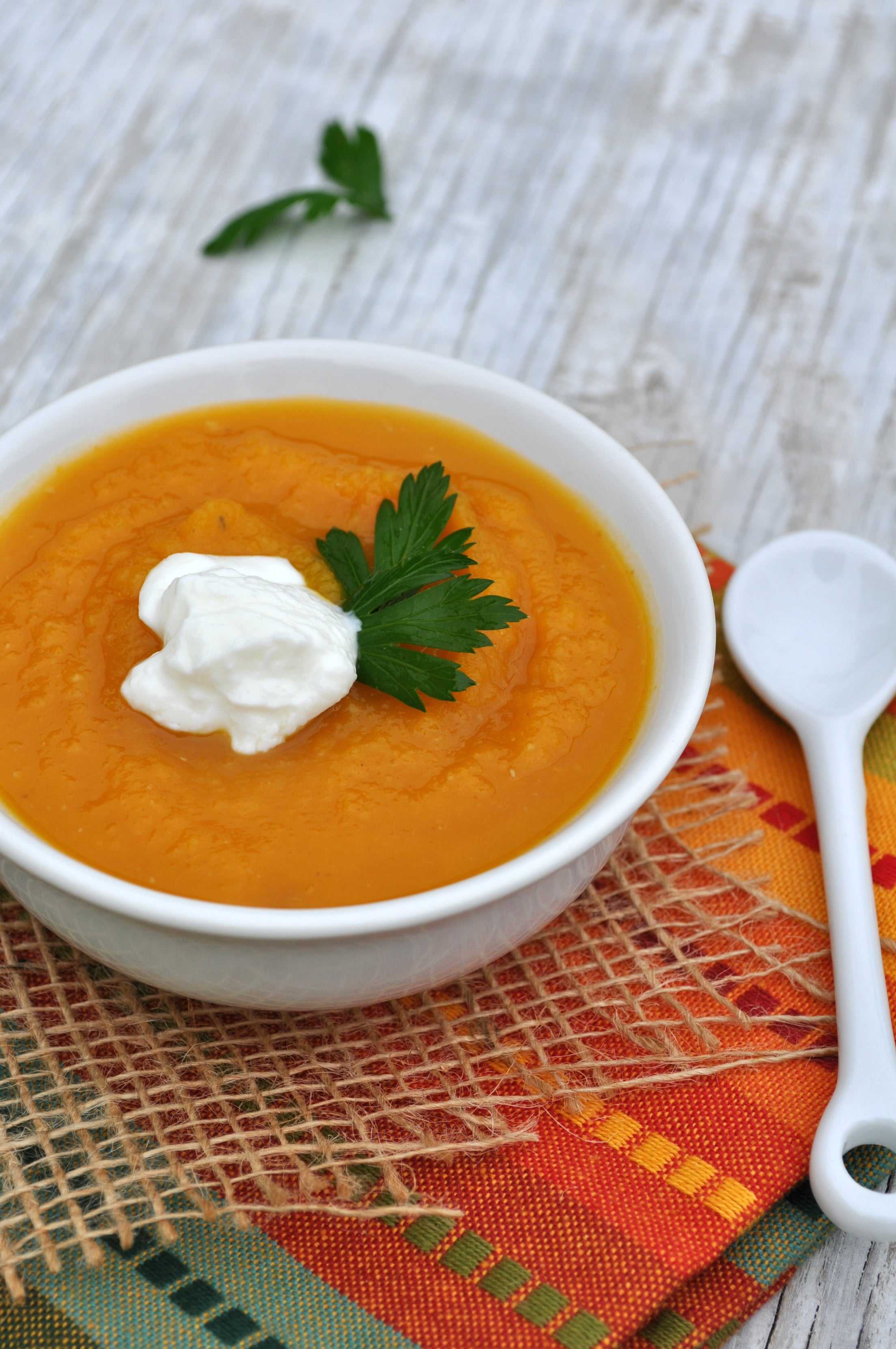 The Best Roasted Butternut Squash Soup - The Seasoned Mom