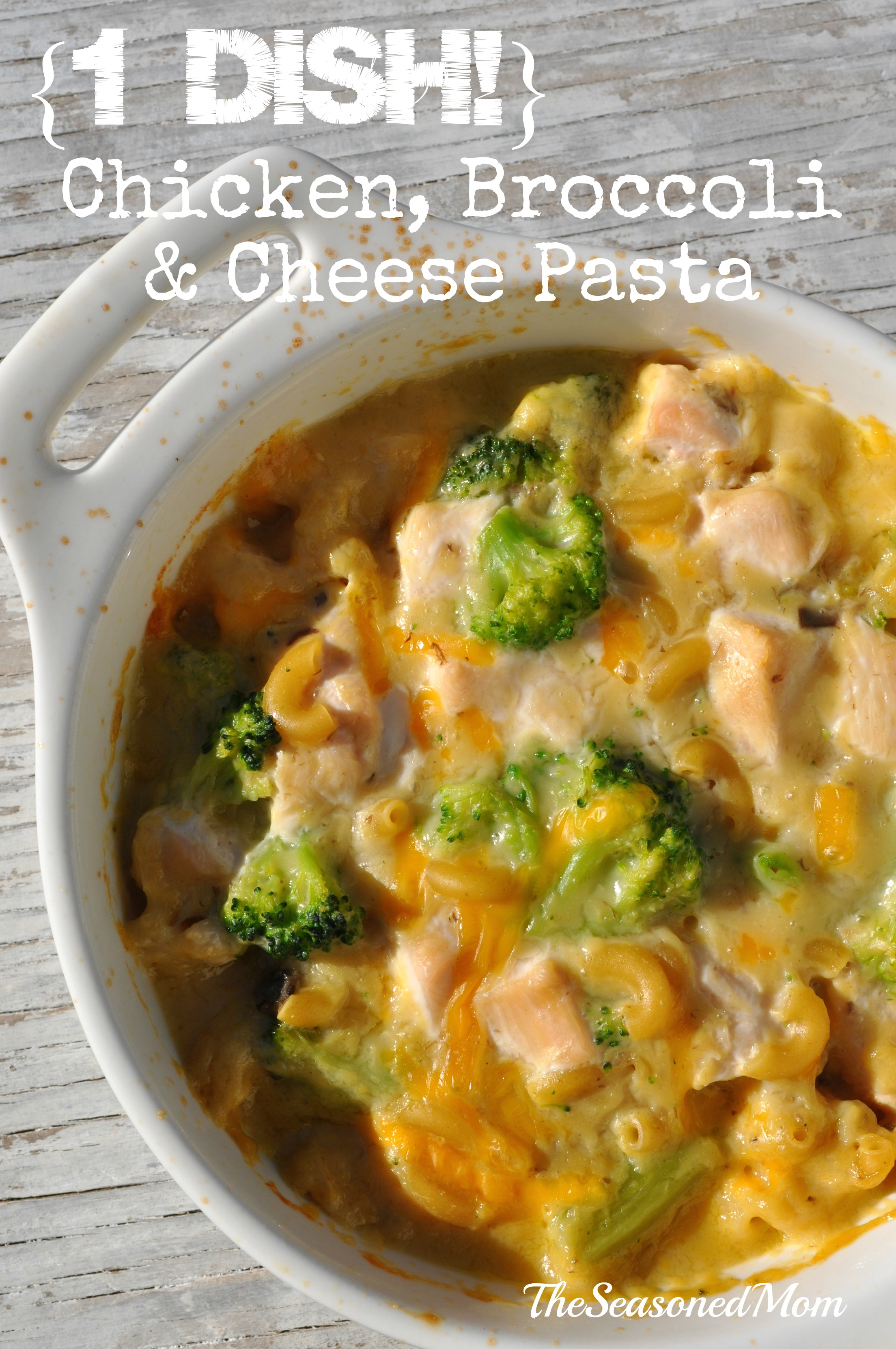 chicken broccoli and cheese