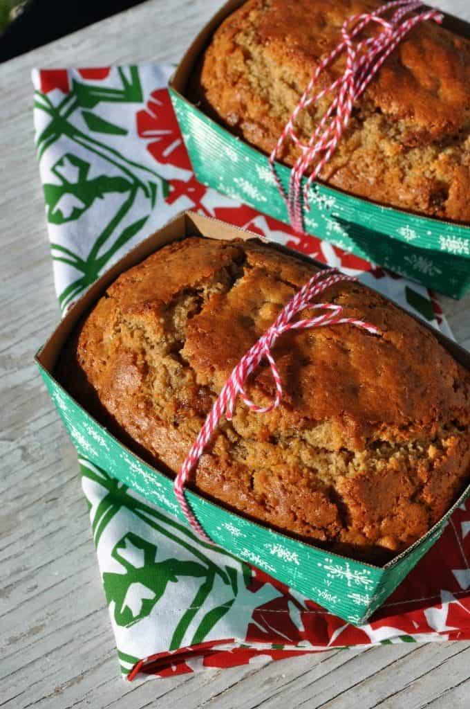 Cinnamon Date and Nut Mini Loaves 2