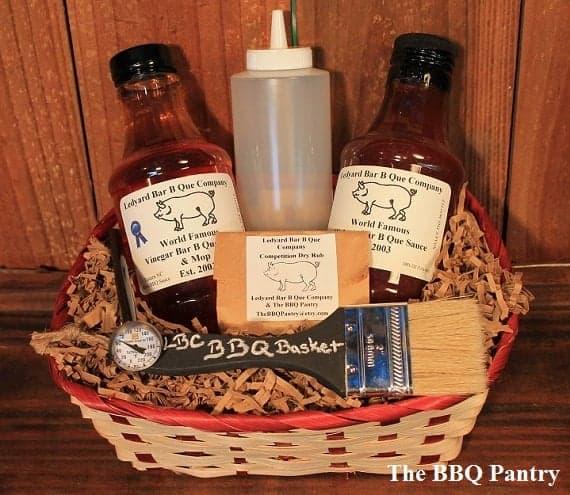 Grillmaster BBQ Gift Basket