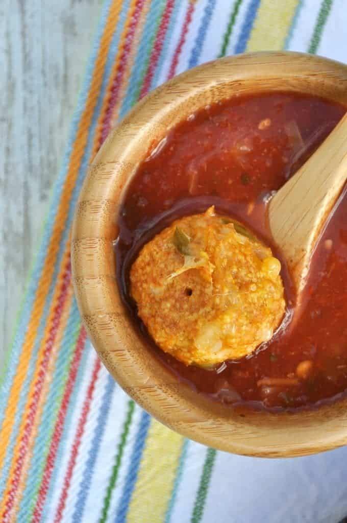 Healthy Chicken Taco Meatballs 5