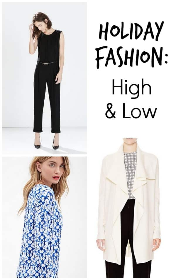 Holiday Fashion: What to Buy High and Low