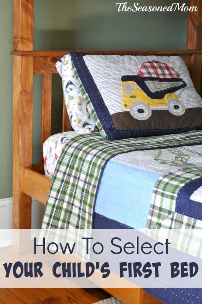 How To Select Your Child's First Bed