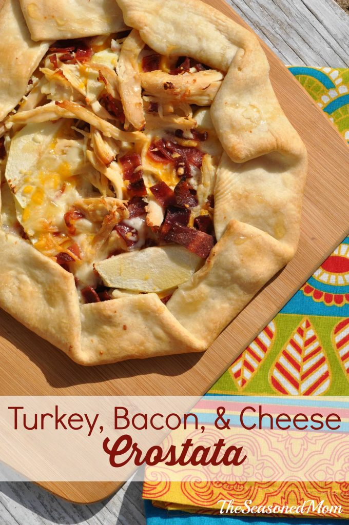 Turkey, Bacon, and Cheese Crostata + {First Birthdays!}