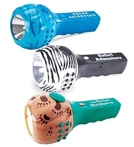 sound and light flashlight