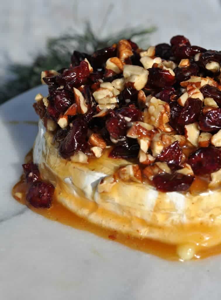 Caramel Nut and Cranberry Brie 2
