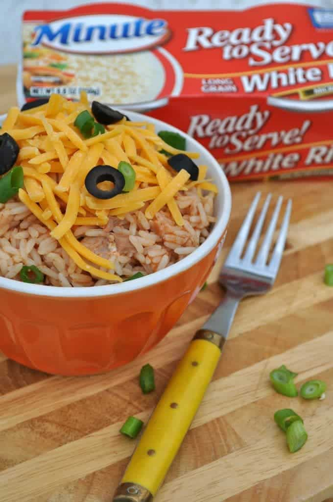 Chicken Taco Rice Bowls 2