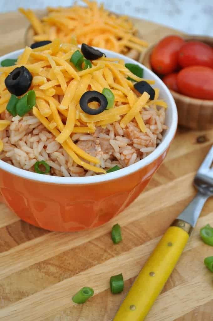 Chicken Taco Rice Bowls 3