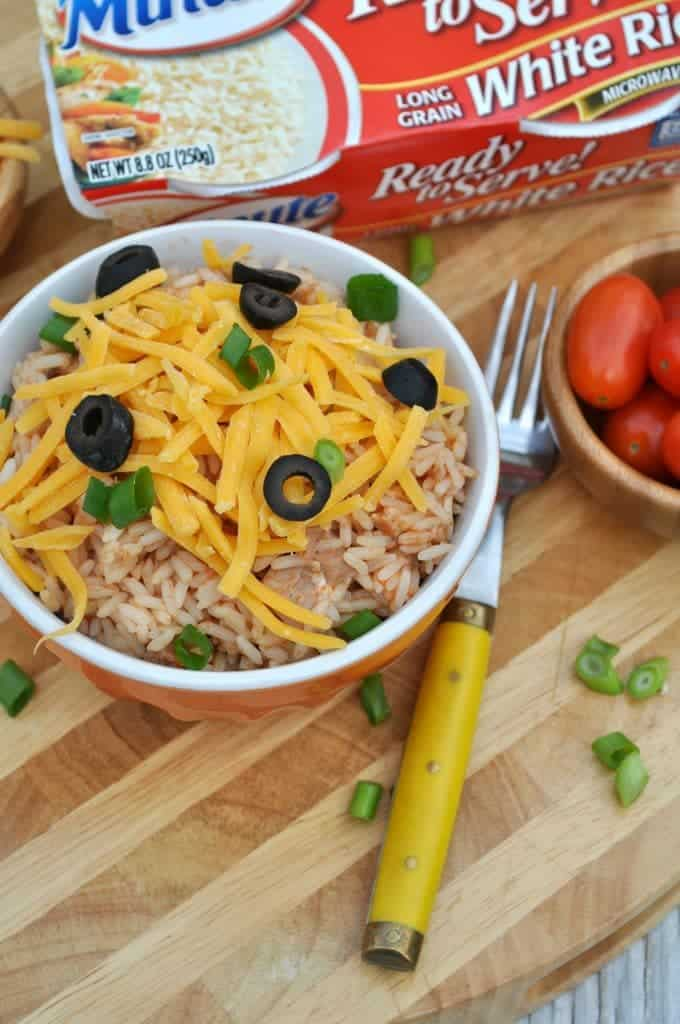 Chicken Taco Rice Bowls 4