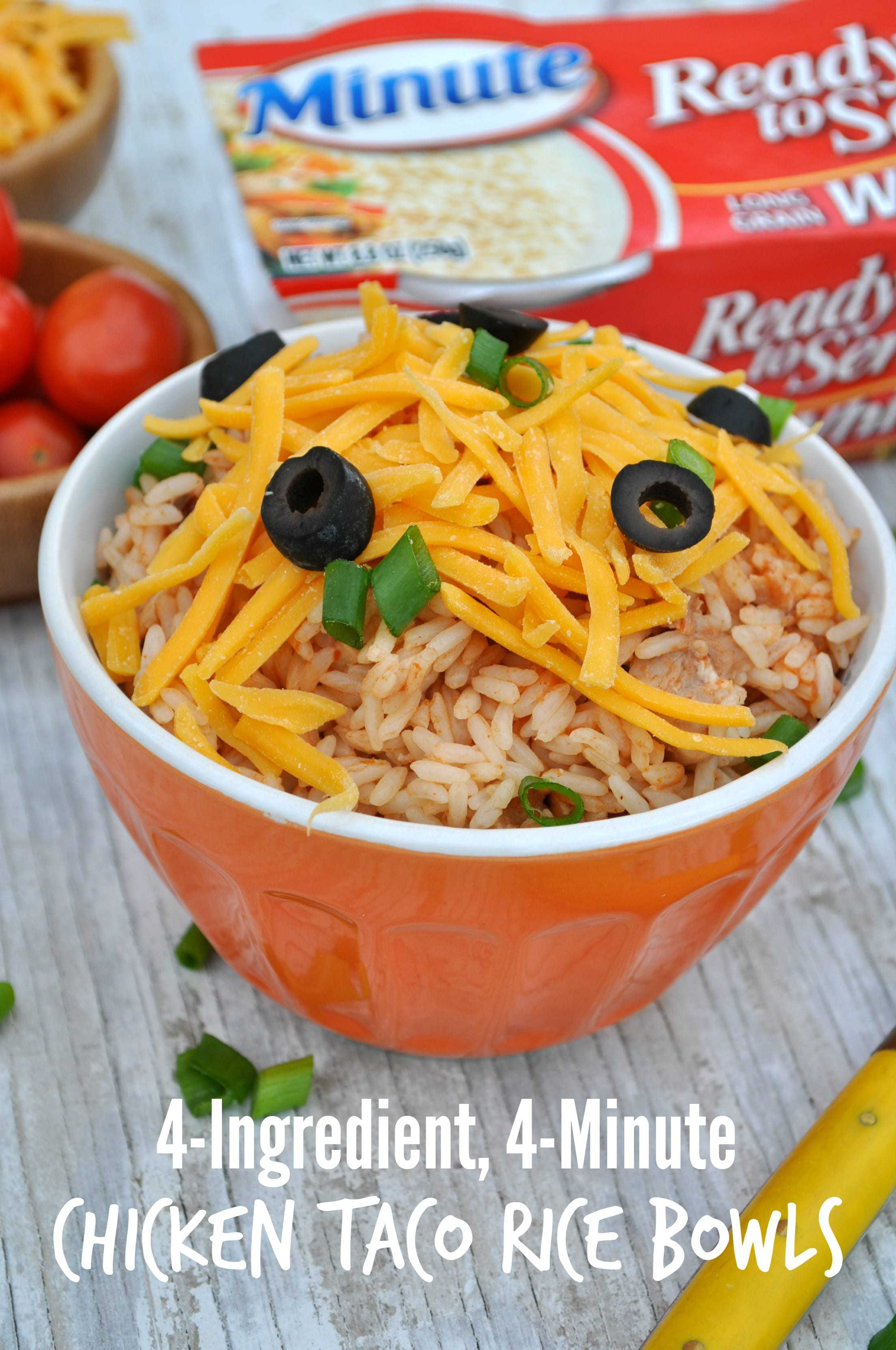 Chicken Taco Rice Bowls 6