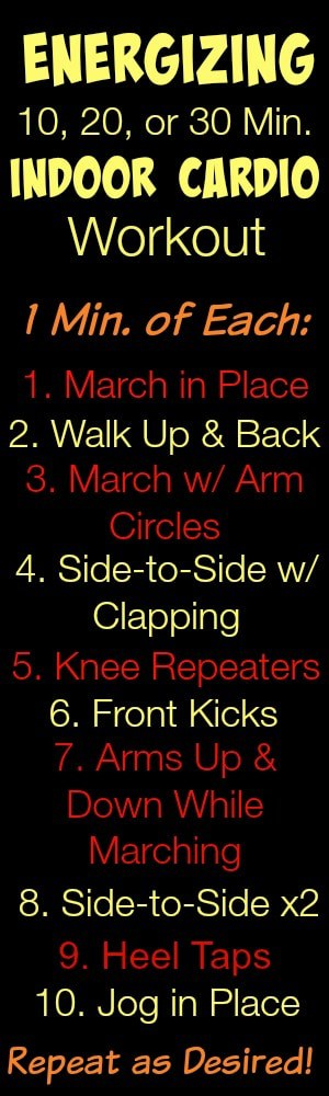 Energizing Indoor Cardio Workout 2