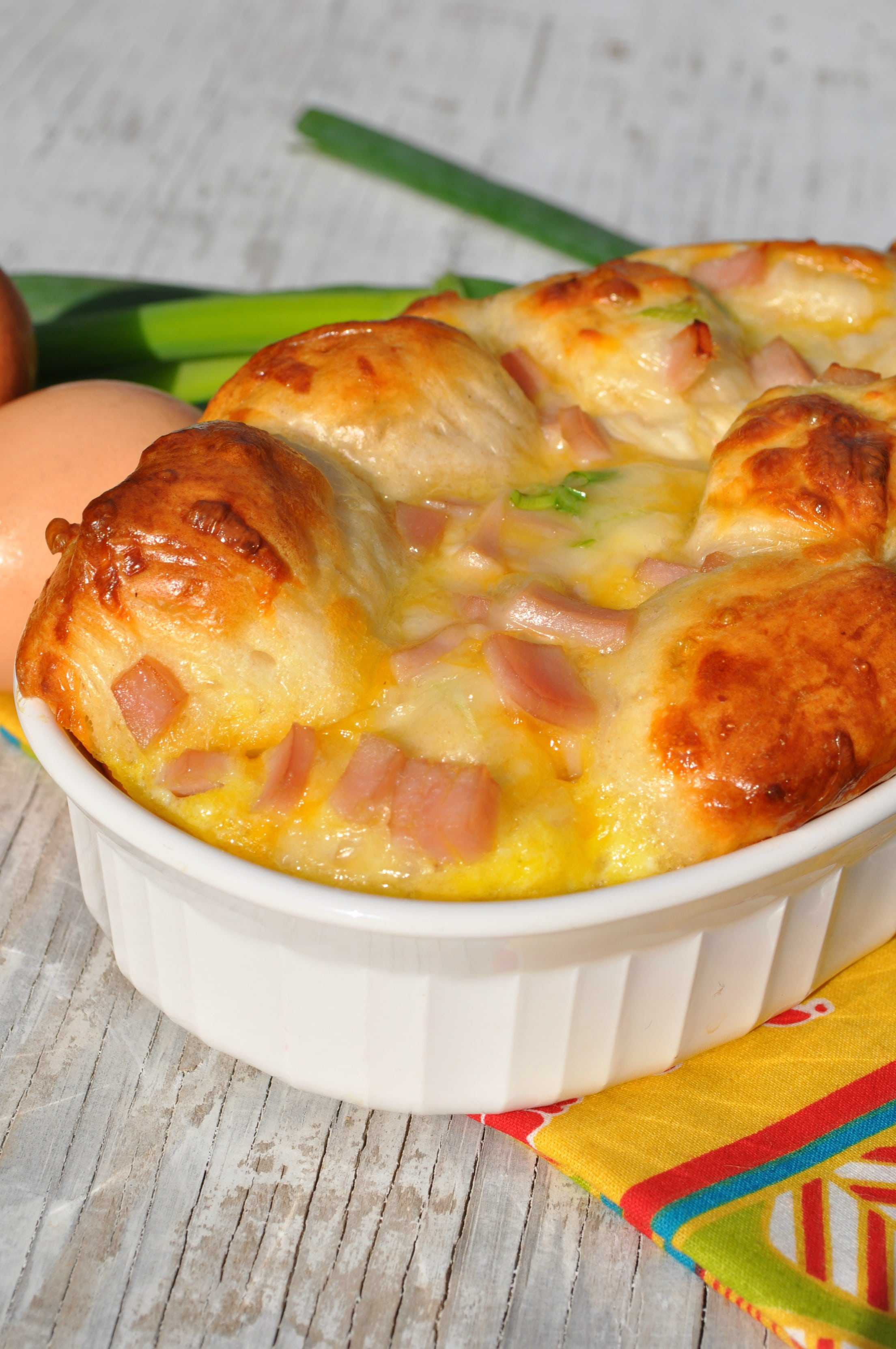 Country Ham And Cheese Biscuit Bread