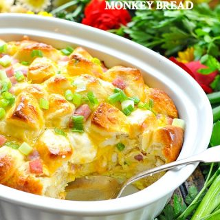 {Overnight} Ham, Egg and Cheese Monkey Bread