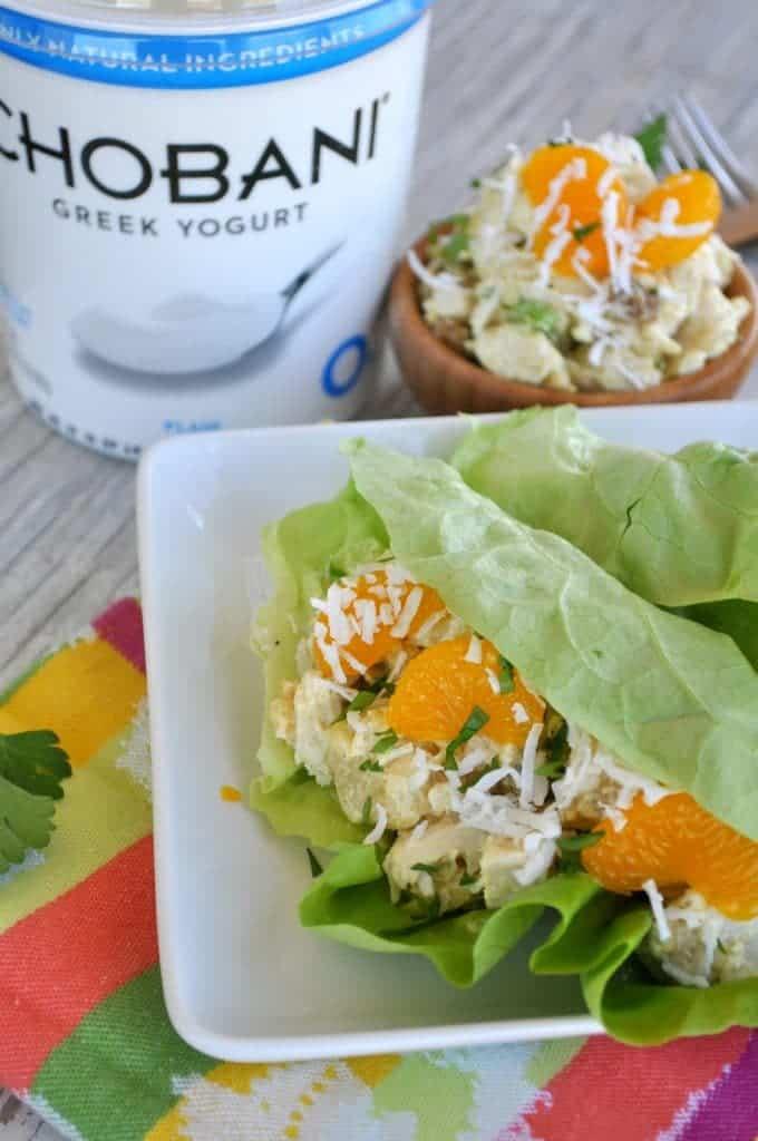Skinny Polynesian Chicken Salad 2