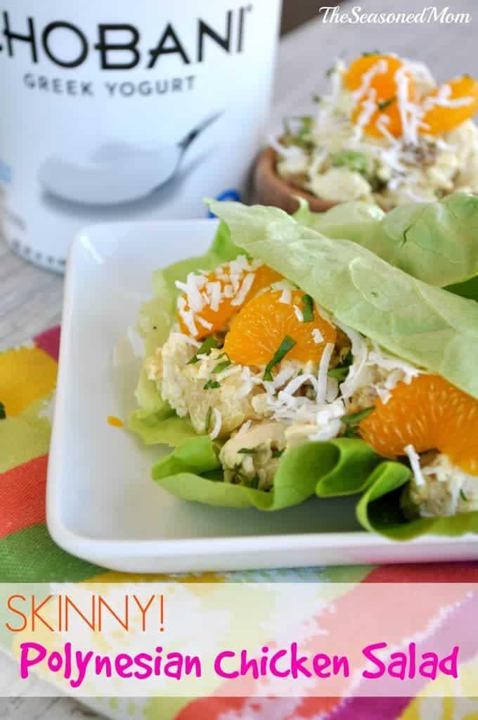 Skinny Polynesian Chicken Salad 6