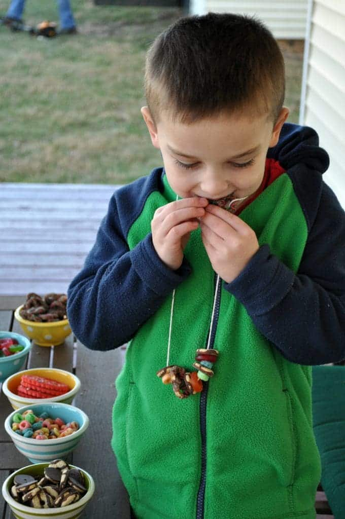 Snack Necklaces Gibbs Eating