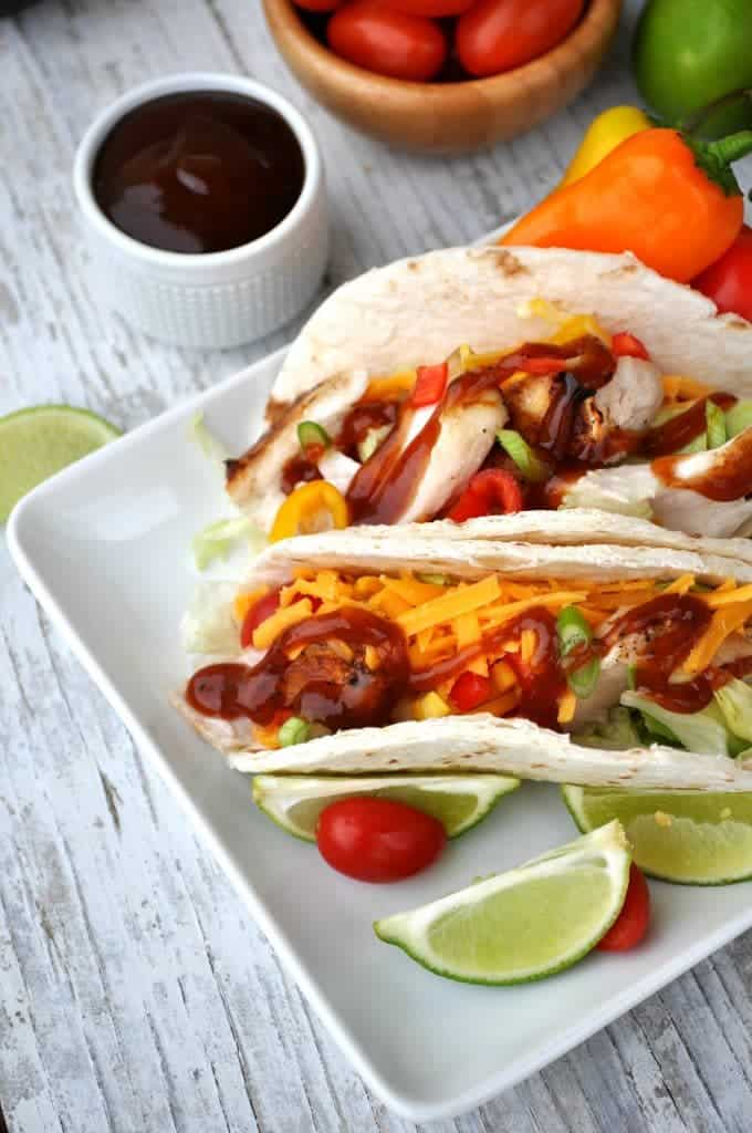 Easy barbecue fish tacos the seasoned mom for Fish table sweepstakes near me