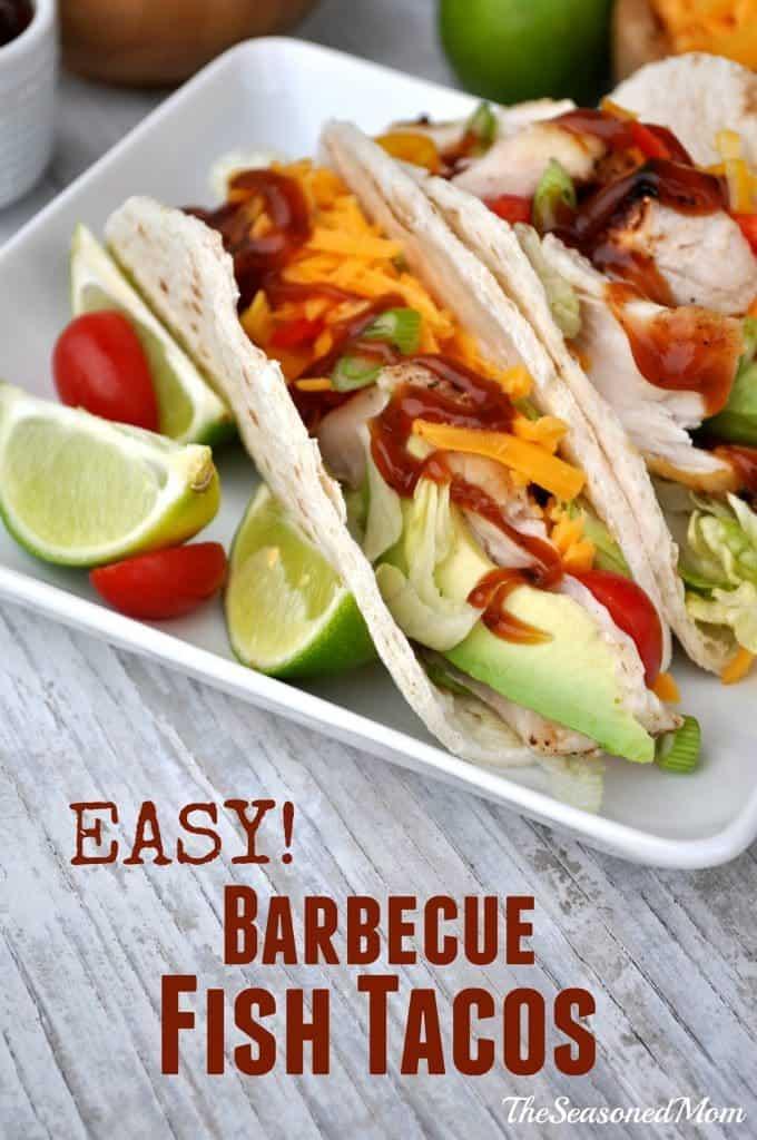 Easy Barbecue Fish Tacos 12