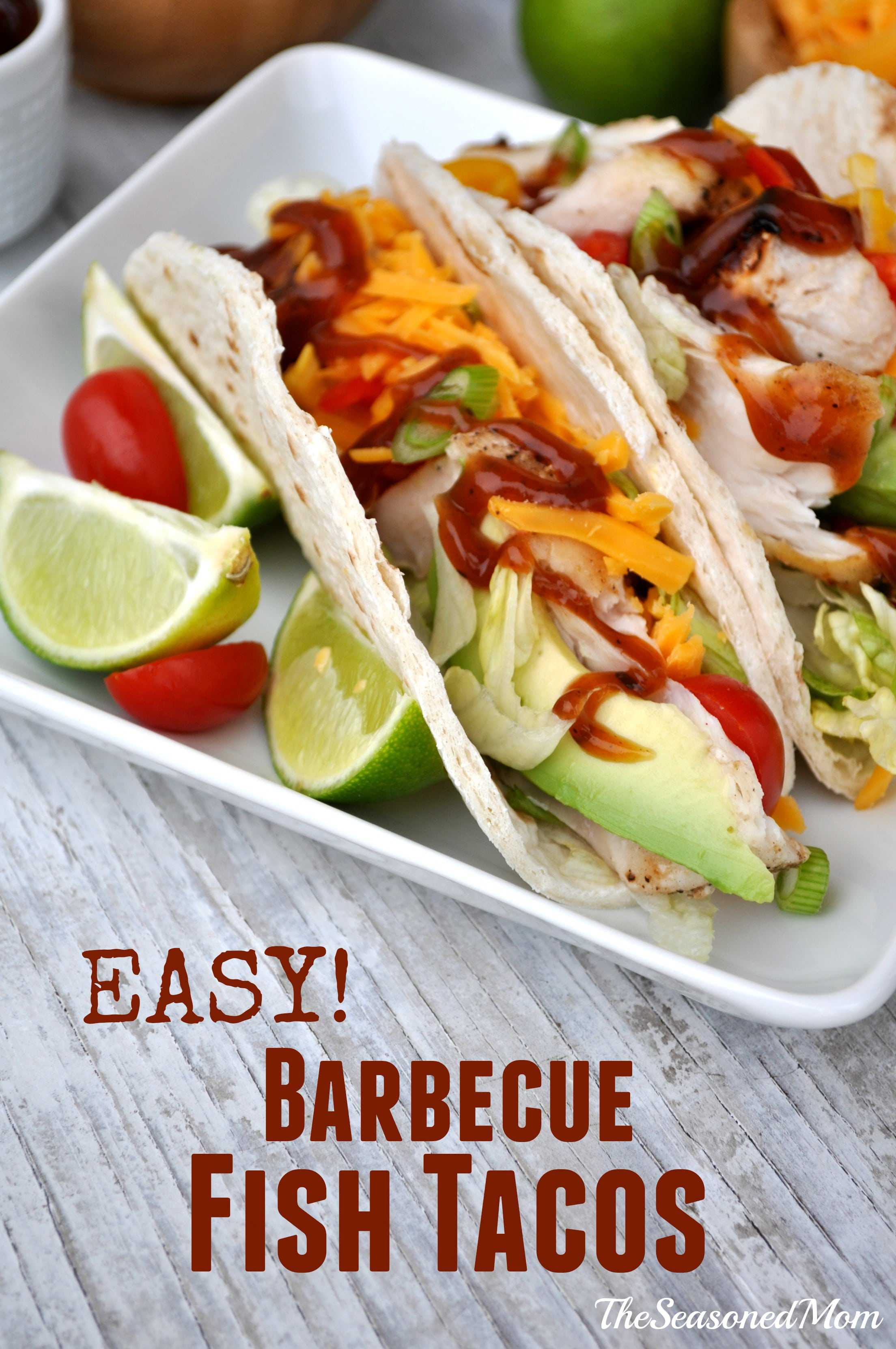 Easy Barbecue Fish Tacos 12