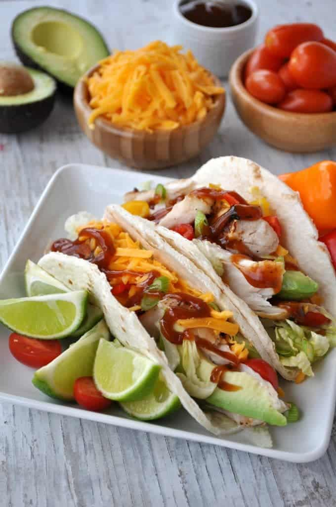 Easy Barbecue Fish Tacos