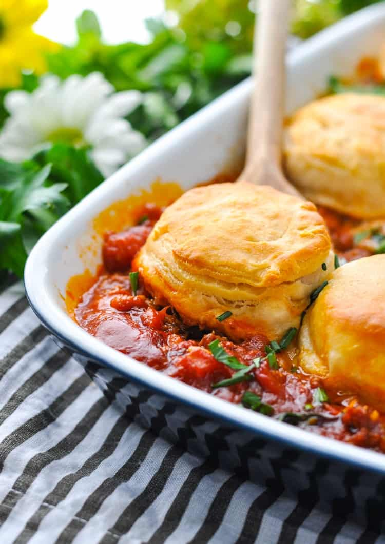Quick And Easy Pizza Pot Pie The Seasoned Mom