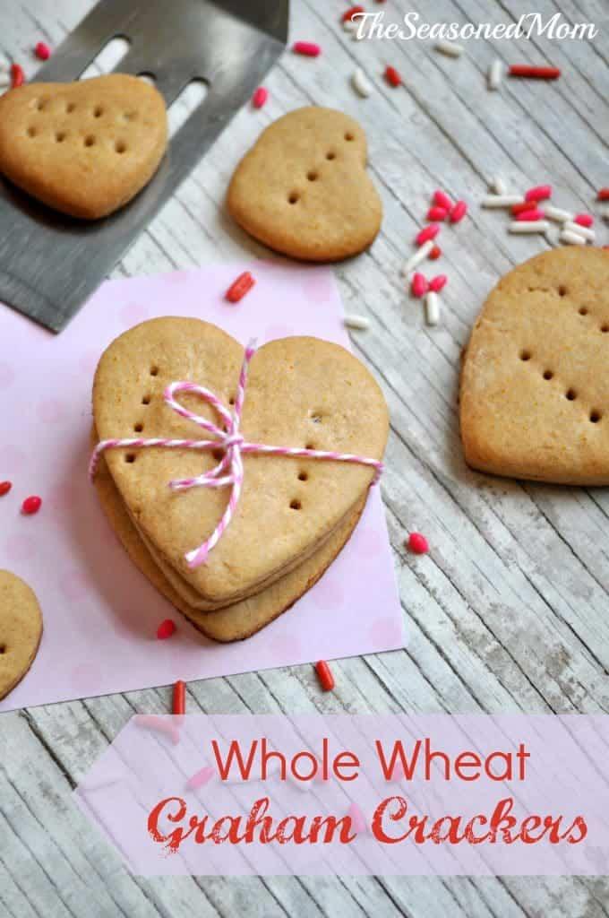 Homemade Whole Wheat Graham Crackers 3