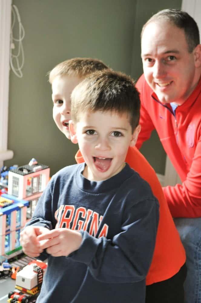 Legos with Dad 2