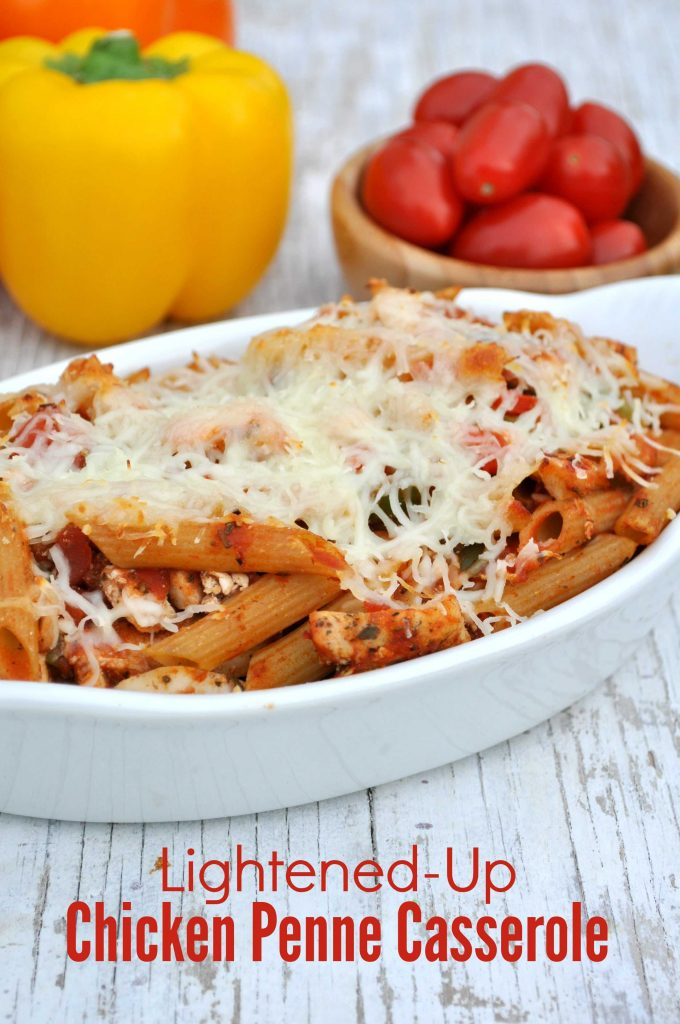 Lightened Up Chicken Penne Casserole 6