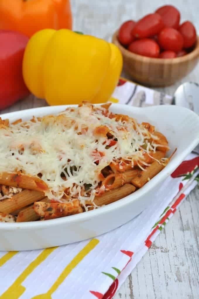 Lightened Up Chicken Penne Pasta 2